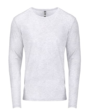 Next Level mens Tri-Blend Long-Sleeve Crew Tee (6071) | Amazon.com